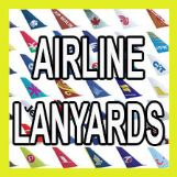 AIRLINE Lanyards